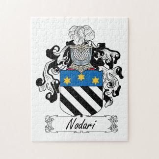 Escudo de la familia de Nodari Puzzle