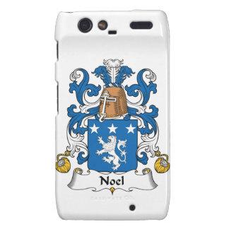 Escudo de la familia de Noel Droid RAZR Fundas