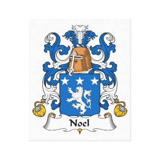 Escudo de la familia de Noel Lona Envuelta Para Galerías