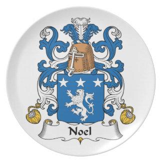 Escudo de la familia de Noel Plato Para Fiesta