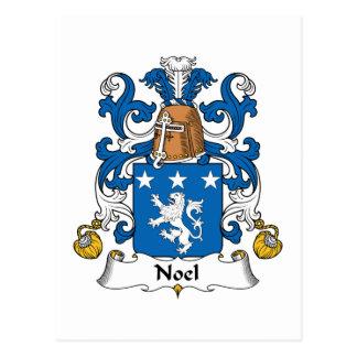 Escudo de la familia de Noel Postal