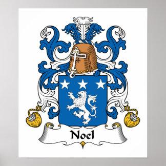 Escudo de la familia de Noel Poster