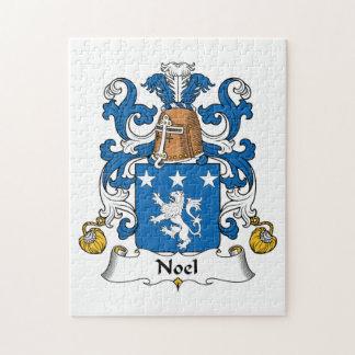Escudo de la familia de Noel Puzzles Con Fotos
