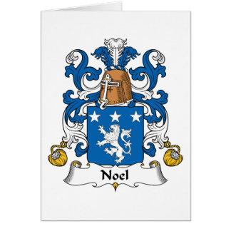 Escudo de la familia de Noel Tarjeton