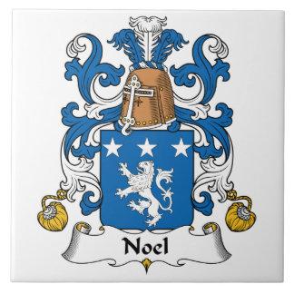 Escudo de la familia de Noel Tejas Cerámicas