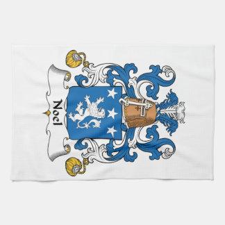 Escudo de la familia de Noel Toalla De Cocina