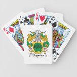 Escudo de la familia de Nogueira Baraja Cartas De Poker
