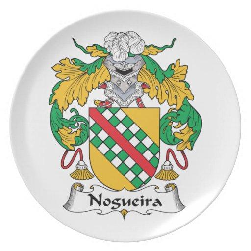 Escudo de la familia de Nogueira Plato