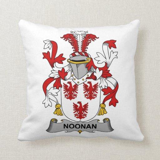 Escudo de la familia de Noonan Cojines