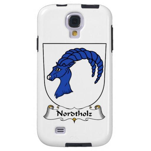 Escudo de la familia de Nordtholz Funda Para Galaxy S4