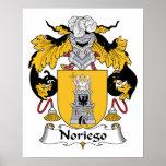 Escudo de la familia de Noriego Impresiones