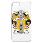 Escudo de la familia de Noriego iPhone 5 Cárcasas