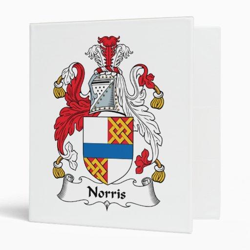 "Escudo de la familia de Norris Carpeta 1"""