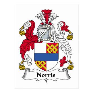 Escudo de la familia de Norris Postal