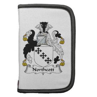 Escudo de la familia de Northcott Organizador