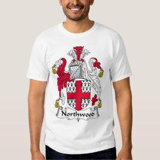 Escudo de la familia de Northwood Camisas