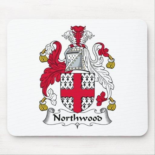 Escudo de la familia de Northwood Alfombrilla De Raton