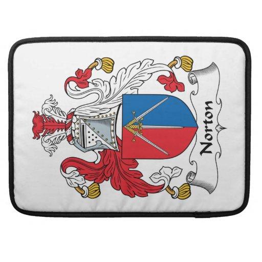 Escudo de la familia de Norton Funda Para Macbooks