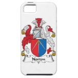 Escudo de la familia de Norton iPhone 5 Cárcasa