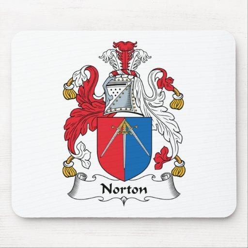 Escudo de la familia de Norton Alfombrillas De Ratón