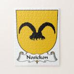Escudo de la familia de Nosickon Rompecabezas Con Fotos