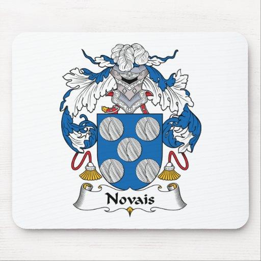 Escudo de la familia de Novais Alfombrillas De Raton
