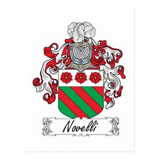Escudo de la familia de Novelli Postales