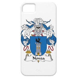Escudo de la familia de Novoa iPhone 5 Fundas