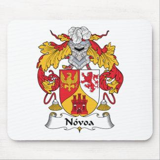 Escudo de la familia de Novoa Tapete De Raton