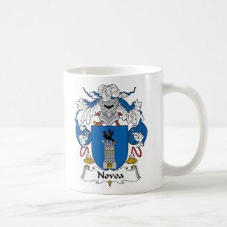 Escudo de la familia de Novoa Taza De Café