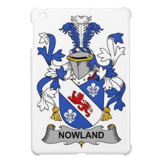 Escudo de la familia de Nowland iPad Mini Carcasas