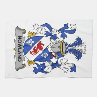 Escudo de la familia de Nowland Toallas