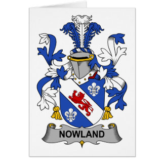 Escudo de la familia de Nowland Tarjeton