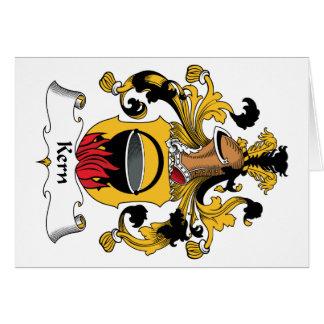 Escudo de la familia de Núcleo de condensación Tarjeta