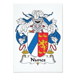 Escudo de la familia de Nunes Anuncios Personalizados