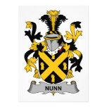 Escudo de la familia de Nunn Comunicados Personalizados