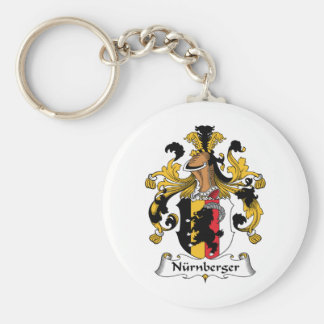 Escudo de la familia de Nurnberger Llaveros