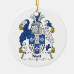 Escudo de la familia de Nutt Ornatos