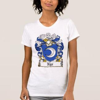 Escudo de la familia de Nye Camiseta