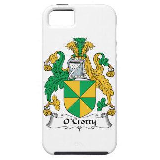 Escudo de la familia de O Crotty iPhone 5 Case-Mate Protectores