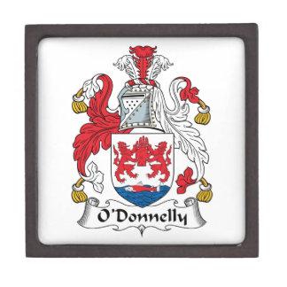 Escudo de la familia de O Donnelly Cajas De Regalo De Calidad