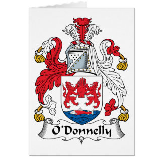Escudo de la familia de O Donnelly Felicitacion
