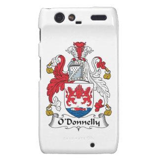 Escudo de la familia de O Donnelly Motorola Droid RAZR Funda