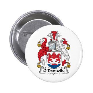 Escudo de la familia de O Donnelly Pins
