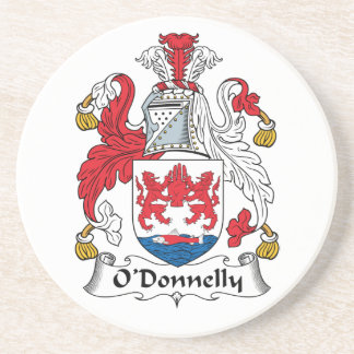 Escudo de la familia de O Donnelly Posavasos Cerveza