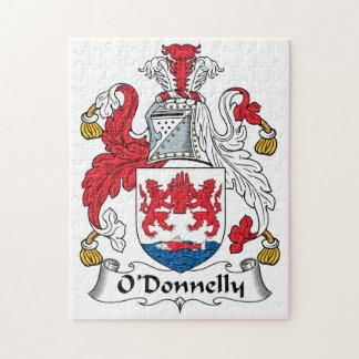 Escudo de la familia de O Donnelly Puzzle Con Fotos