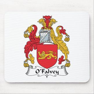 Escudo de la familia de O Falvey Alfombrilla De Raton