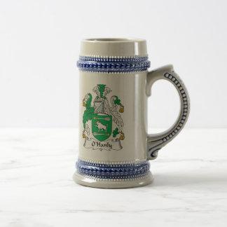 Escudo de la familia de O Hanly Taza De Café