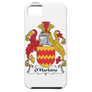Escudo de la familia de O Harkins iPhone 5 Carcasas