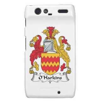 Escudo de la familia de O Harkins Droid RAZR Fundas